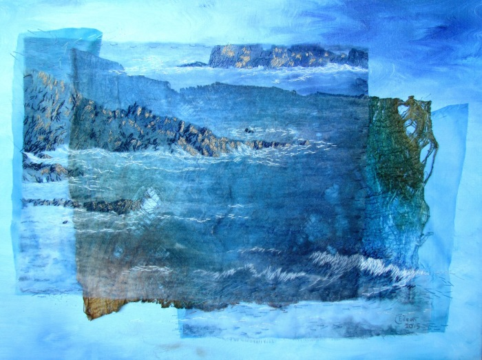 A Depth of Water Caerfai Bay for Willow Gallery 2017