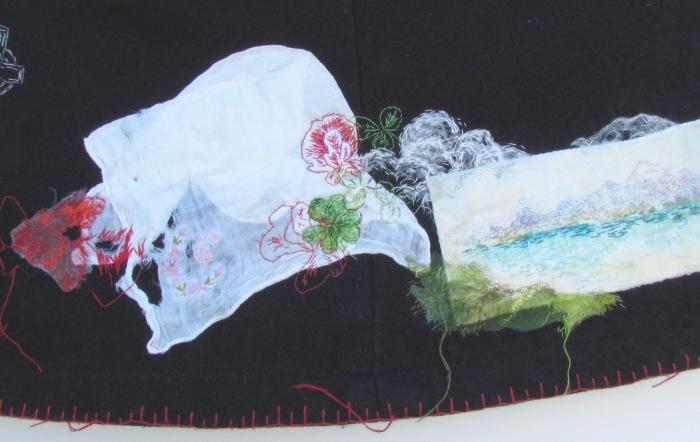 Eileen Harrisson Nurse's cape detail for web poppies Strangford etc low res August 2019 copy